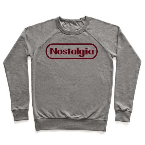Nostalgia (Old Nintendo Logo) Pullover