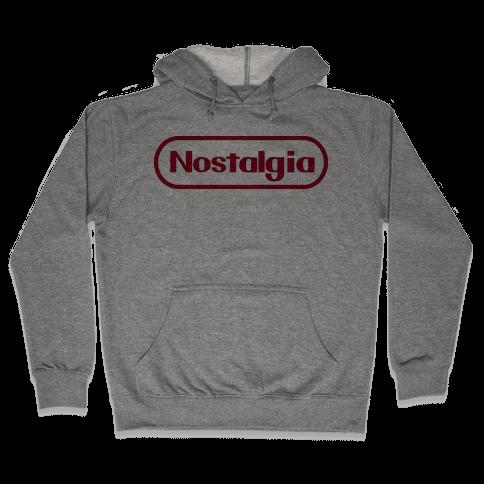 Nostalgia (Old Nintendo Logo) Hooded Sweatshirt
