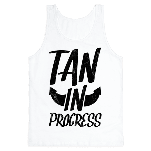 Tan In Progress Tank Top