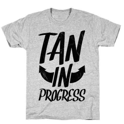 Tan In Progress T-Shirt