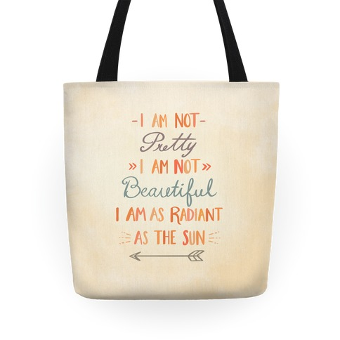 Radiant as the Sun Tote