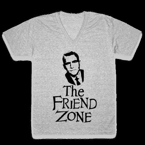 The Friend Zone V-Neck Tee Shirt