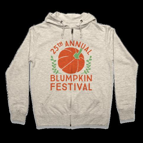 Blumpkin Festival Zip Hoodie
