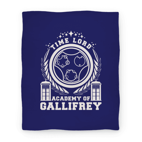 Time Lord Academy of Gallifrey Blanket