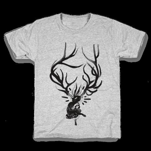 A Jackalope's Lullaby Kids T-Shirt