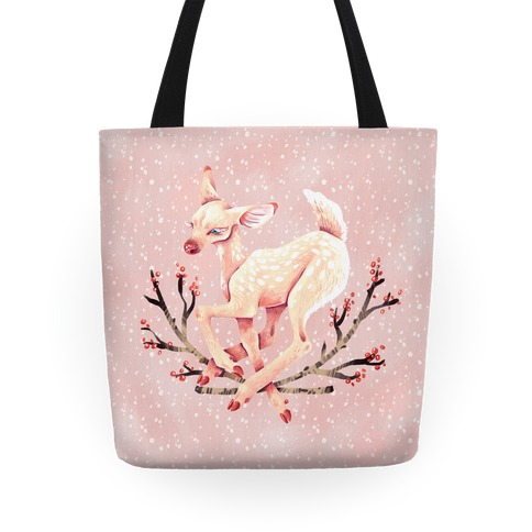 Pastel Peaceful Fawn Tote