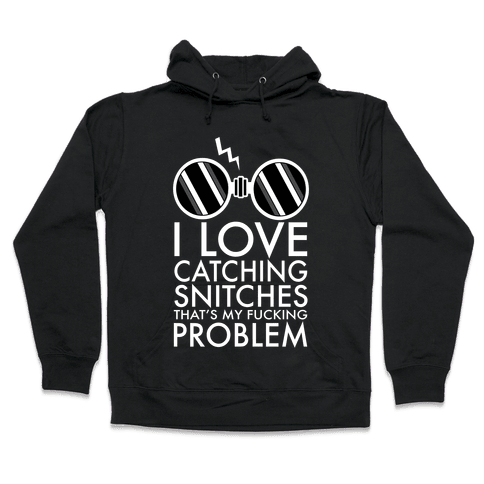 Snitch Catching Hooded Sweatshirt