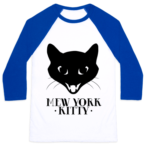 Mew York Kitty Baseball Tee