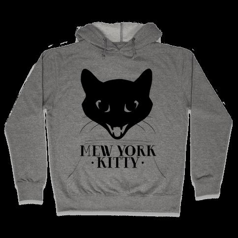 Mew York Kitty Hooded Sweatshirt