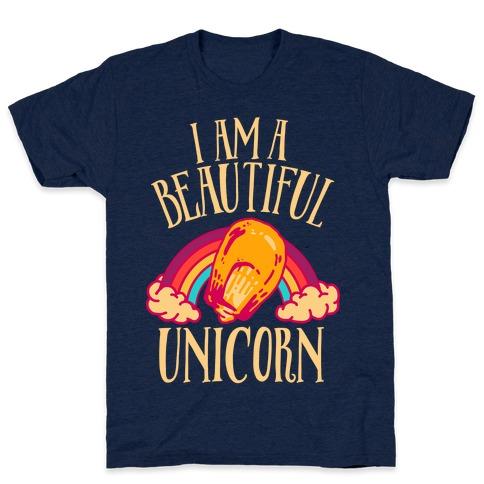 I Am a Beautiful Unicorn Kernel Mens T-Shirt