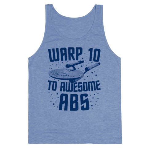 Warp 10 To Awesome Abs Tank Top