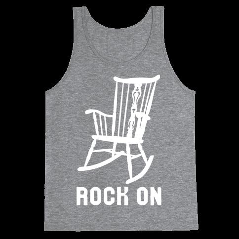 Rock On Rocking Chair Tank Top
