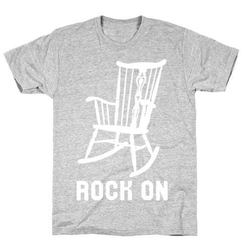 Rock On Rocking Chair Mens T-Shirt