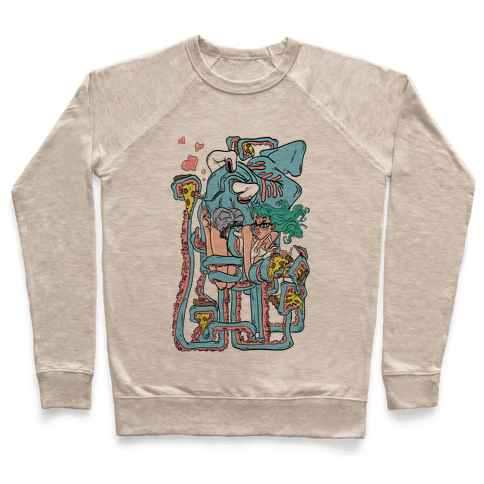 Deep Sea Pizza Party Pullover