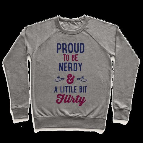 Nerdy & Flirty Pullover