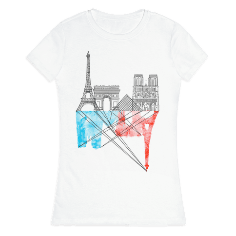 Paris Womens T-Shirt