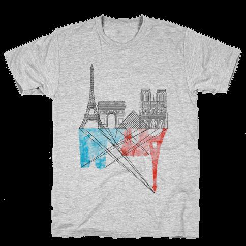 Paris Mens T-Shirt