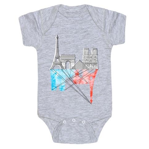 Paris Baby Onesy