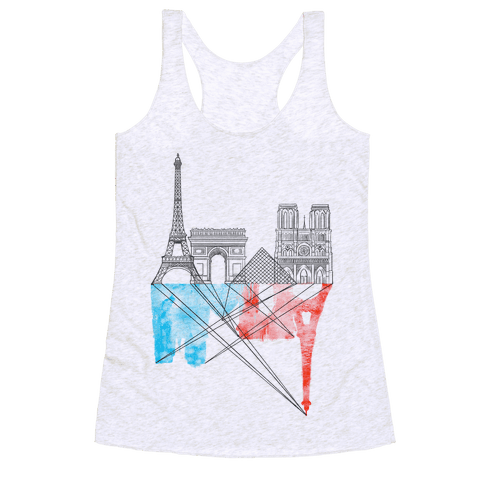 Paris Racerback Tank Top