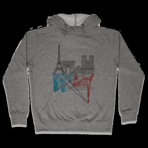 Paris Hooded Sweatshirt