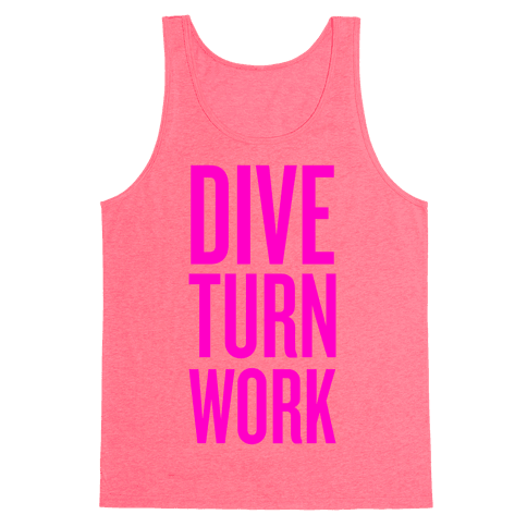 Dive Turn Work Tank Top