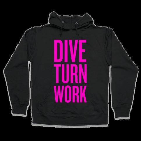 Dive Turn Work Hooded Sweatshirt