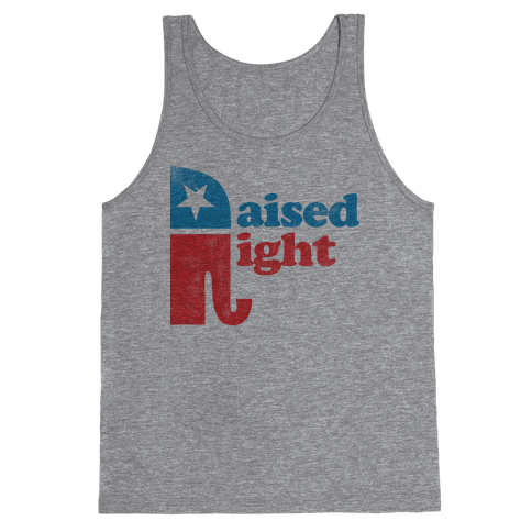 RAISED RIGHT (VINTAGE) Tank Top