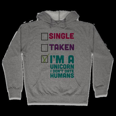 I'm a Unicorn Hooded Sweatshirt