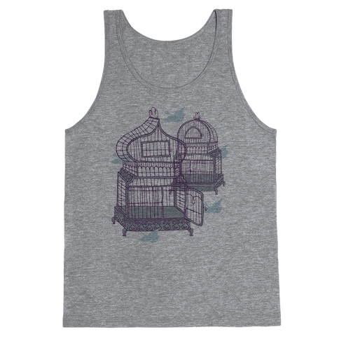 Open Birdcage Tank Top