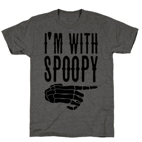 I'm With Spoopy & I'm With Creppy Pair 1 Mens T-Shirt