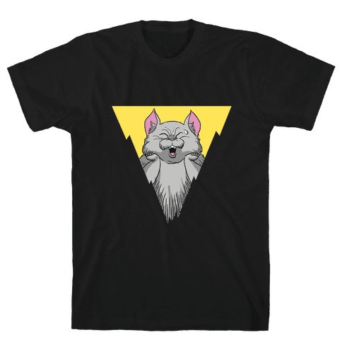 Anime Cat Mens T-Shirt