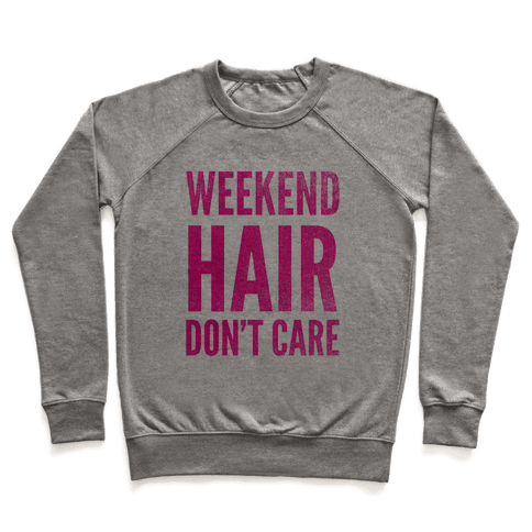Weekend Hair Don't Care (Tank) Pullover