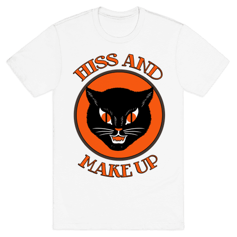 Hiss and Make Up Mens T-Shirt
