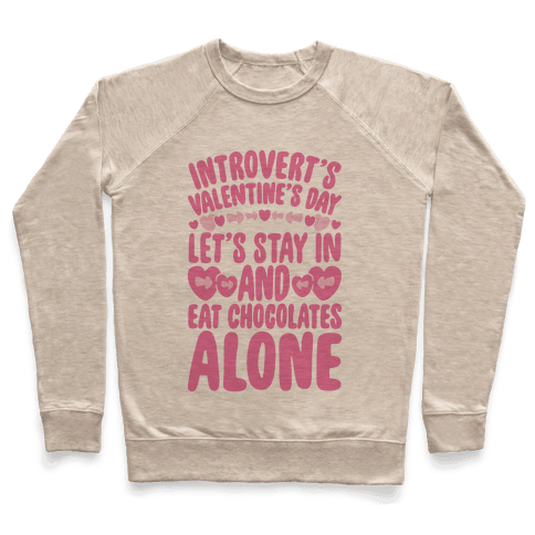 Introverted Valentine Pullover