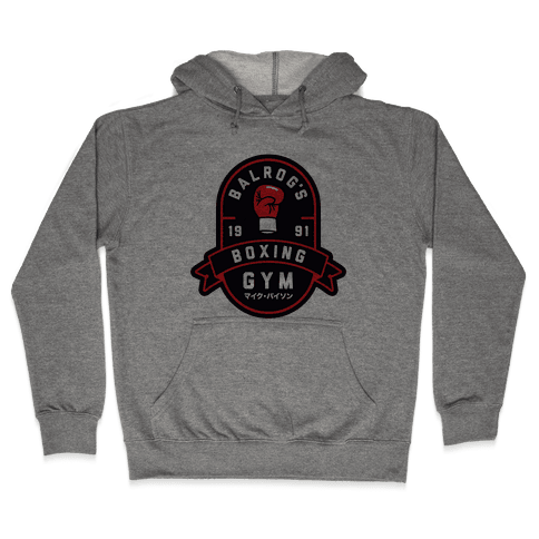 Balrog's Boxing Gym Hooded Sweatshirt