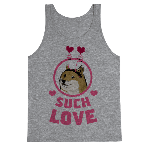 Doge: Such Love Tank Top