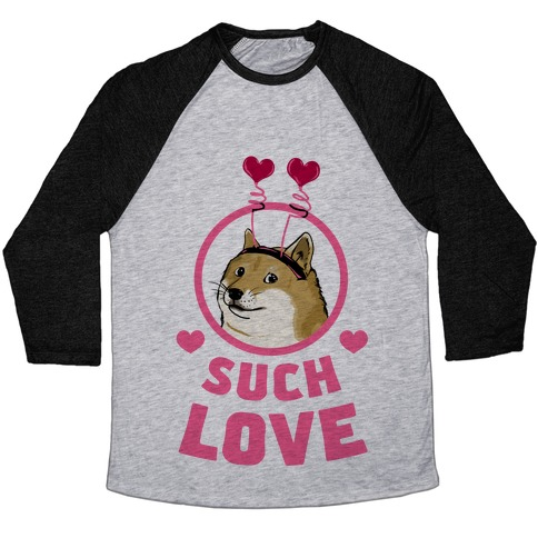 Doge: Such Love Baseball Tee