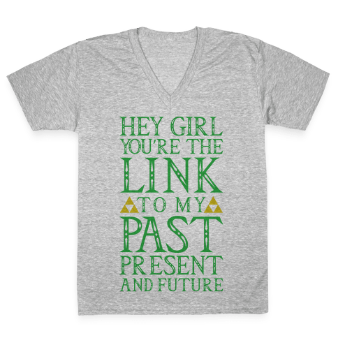 You're the Link to my Past V-Neck Tee Shirt