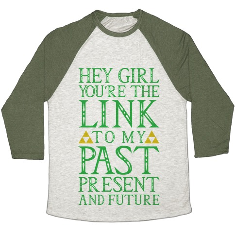 You're the Link to my Past Baseball Tee