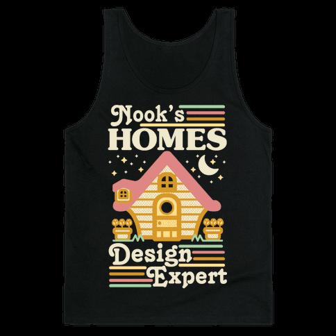 Nook's Homes Design Expert Tank Top