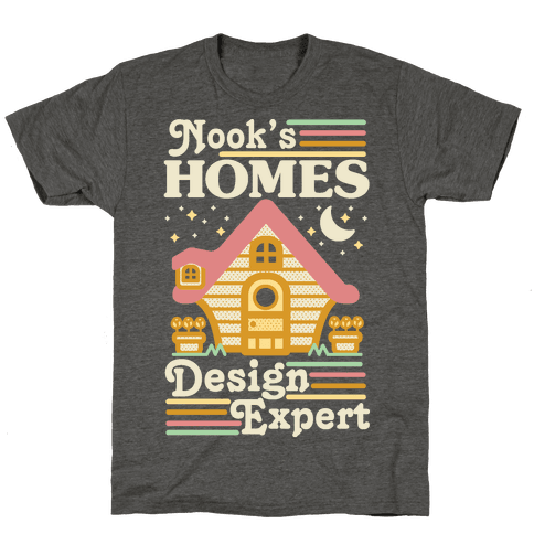 Nook's Homes Design Expert Mens/Unisex T-Shirt