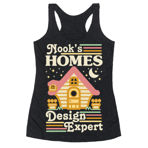 Nook's Homes Design Expert Racerback Tank Top