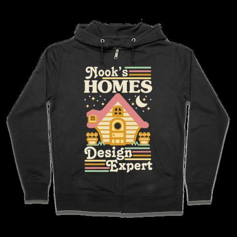 Nook's Homes Design Expert Zip Hoodie