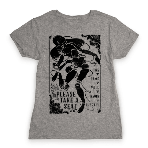 Death Parade Doll Womens T-Shirt