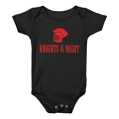 Knights of the Night Baby Onesy