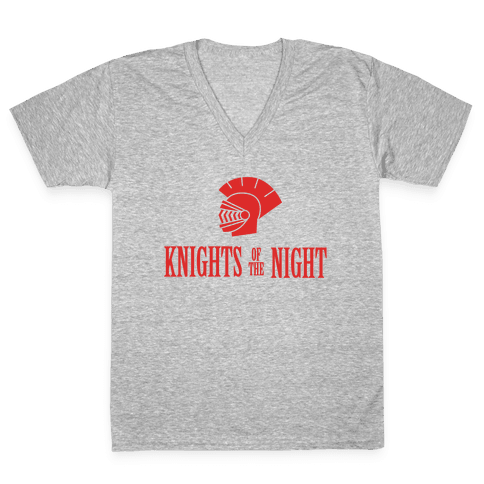 Knights of the Night V-Neck Tee Shirt