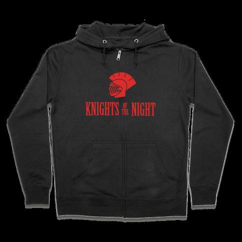 Knights of the Night Zip Hoodie