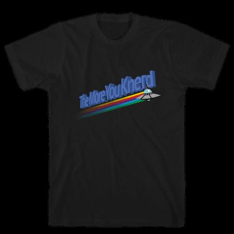 The More You Knerd Mens T-Shirt