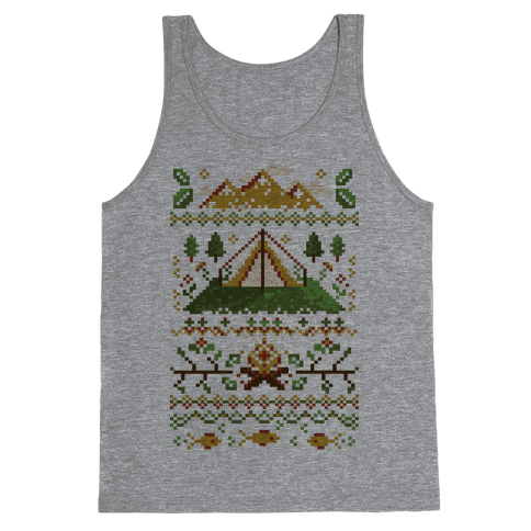 Ugly Camping Sweater Tank Top