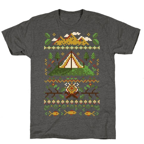 Ugly Camping Sweater T-Shirt
